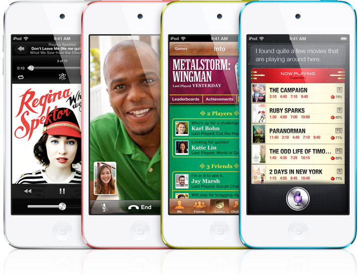 Apple iPod Touch 5th Generation - Apps