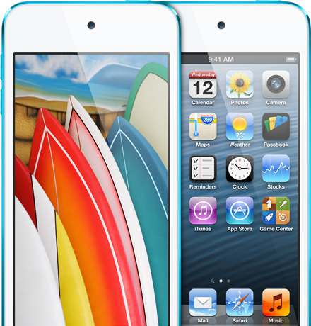 Apple iPod Touch 5th Generation - Display