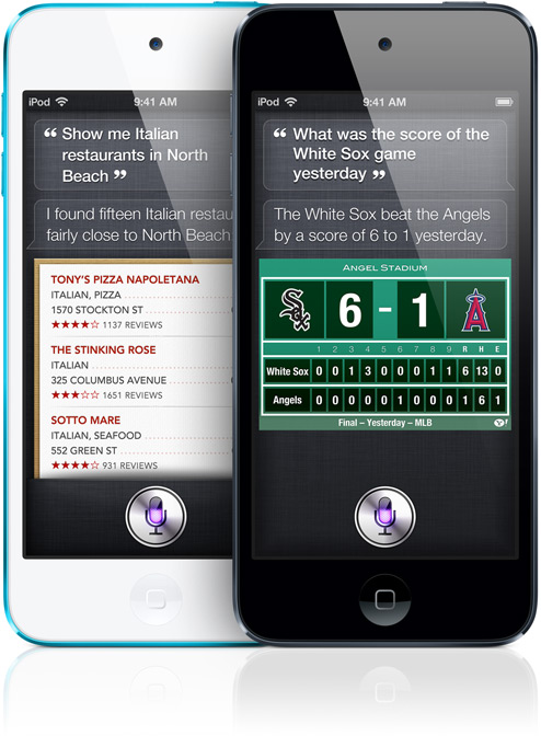 Apple iPod Touch 5th Generation - Siri - Analie Cruz