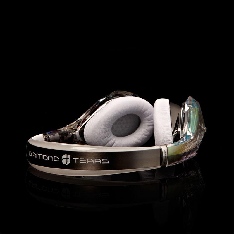 Monster - Diamond Tears Headband (White)