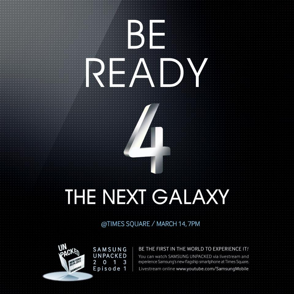 amsung Galaxy S4 - Experience