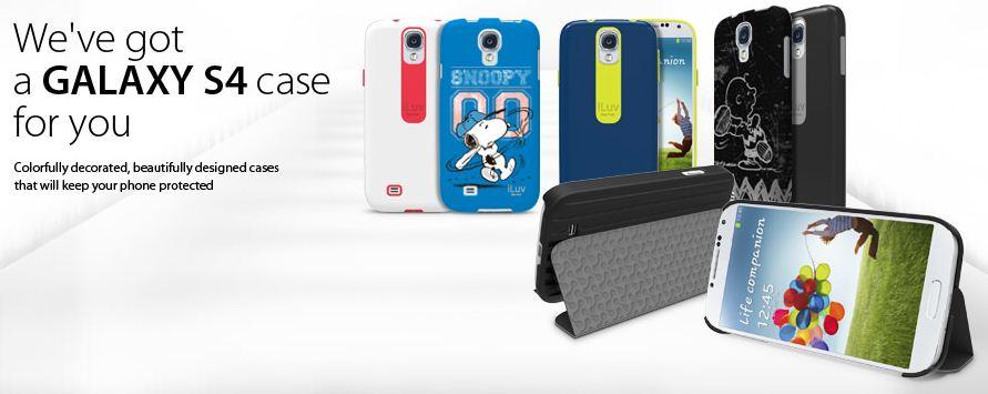 iLuv Samsung Galaxy S4 Cases