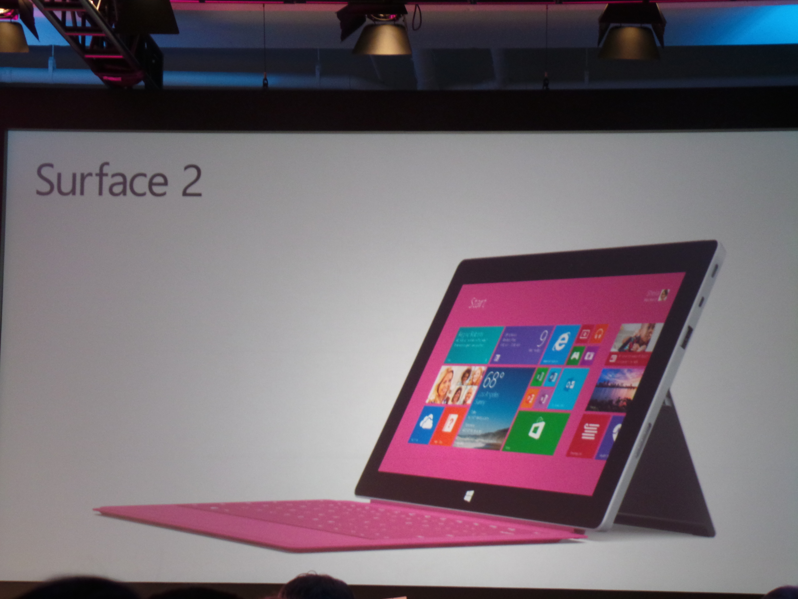 Microsoft Surface 2 Pink Type Cover (Keyboard)