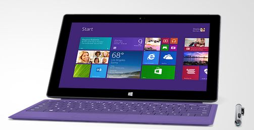 Microsoft Surface 2 / Surface Pro 2 Covers - Type Cover and Stylus Purple