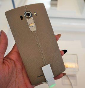 LG G4 - #LGG4 - leather back - Analie Cruz