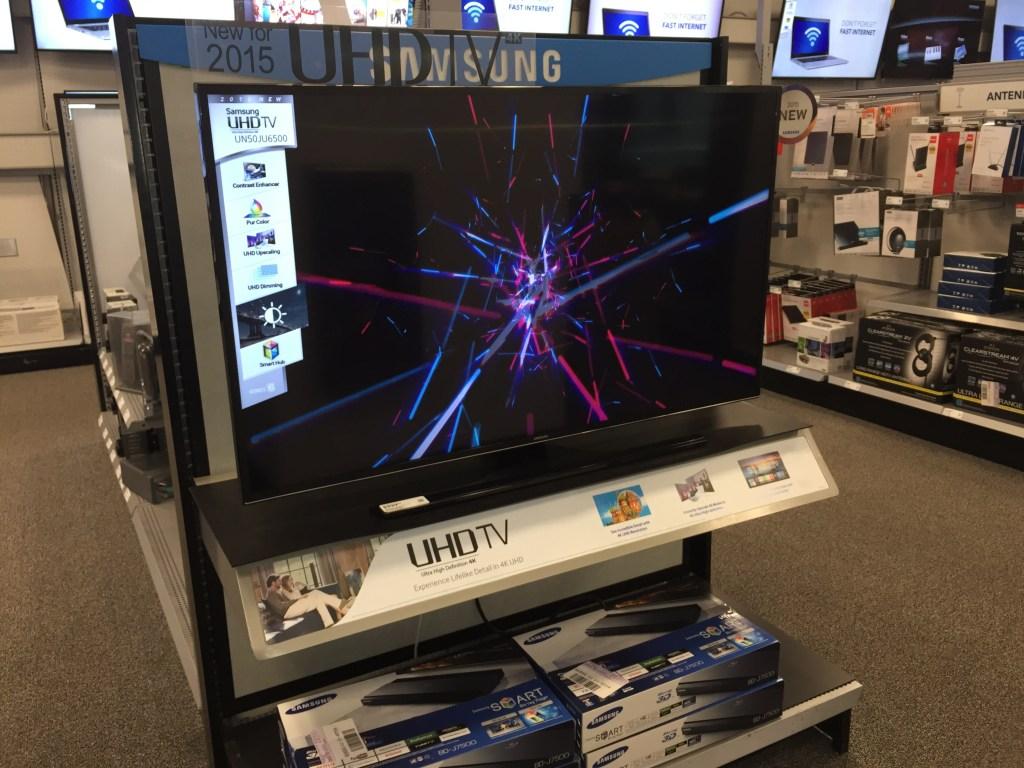 Samsung UHD TV Experience Best Buy - Analie Cruz