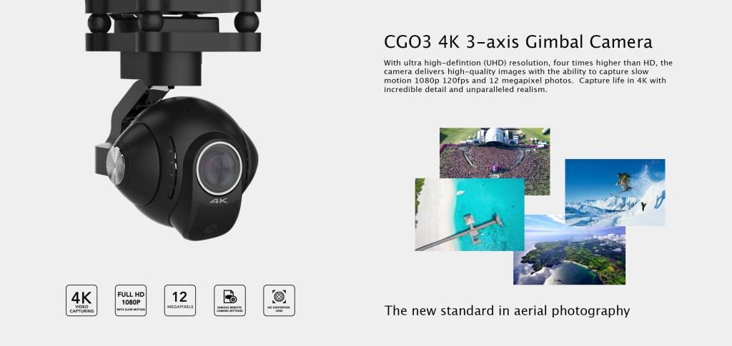 Yuneec Typhoon Q500 4K Drone -  CG03 4K Camera - Analie Cruz