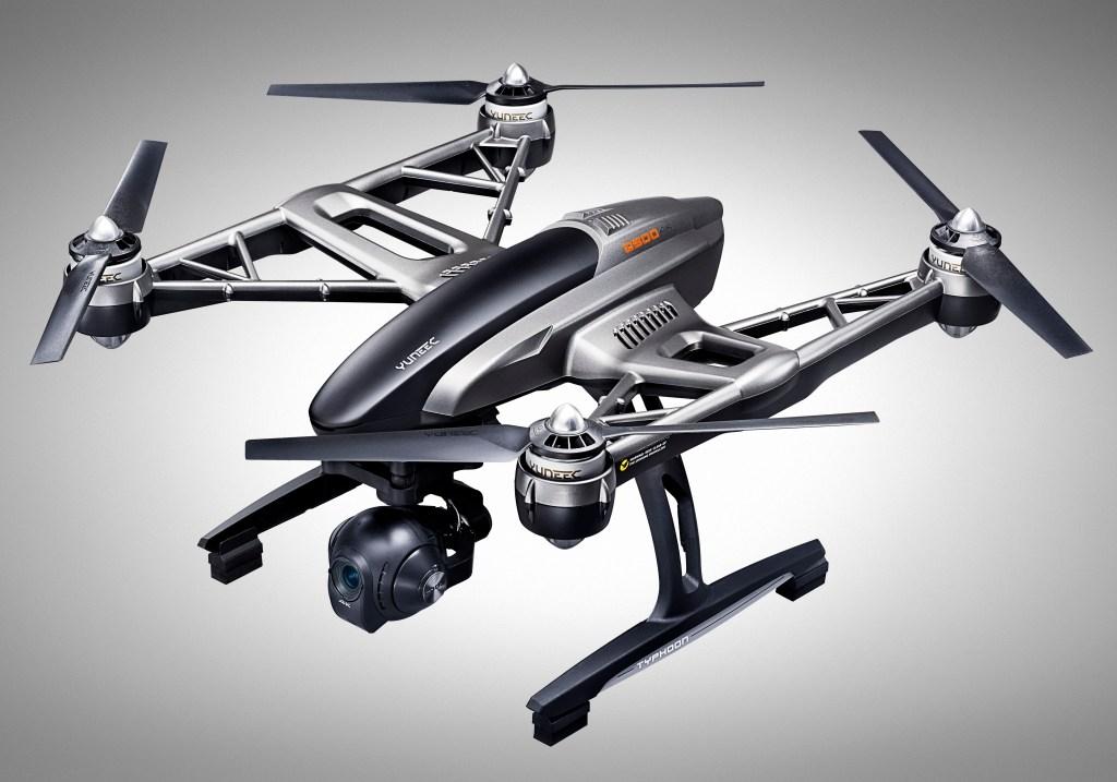 Yuneec Typhoon Q500 4K Drone -  angle - Analie Cruz