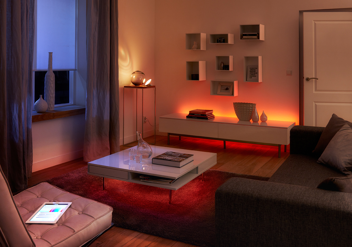 Philips Hue Lights - connected home ambiance 1- Cruz