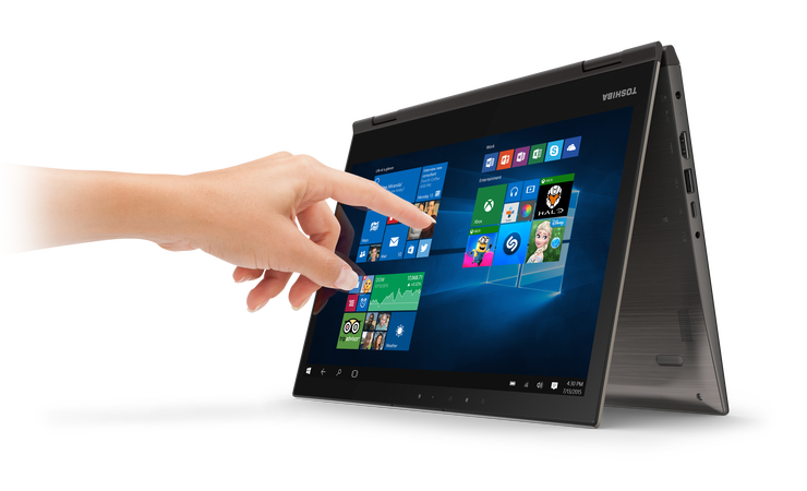 Toshiba Satellite Radius 12 2-in-1 Laptop - Best Buy - Touch - Cruz