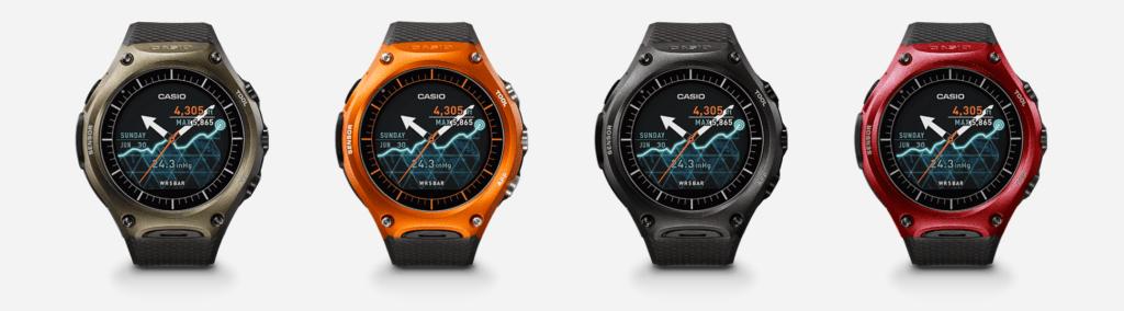 casio wsd-f10 smart outdoor watch -lineup analie cruz ces 2016