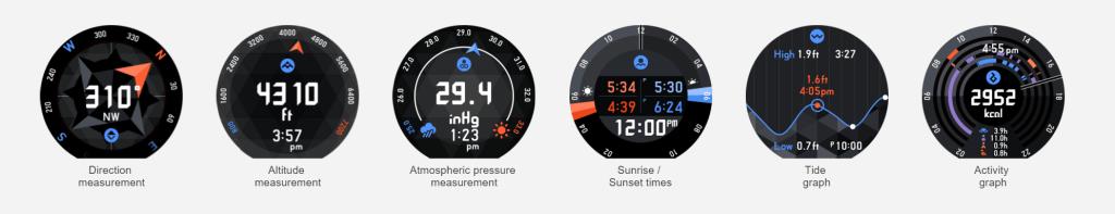 casio wsd-f10 smart outdoor watch - watch face analie cruz ces 2016