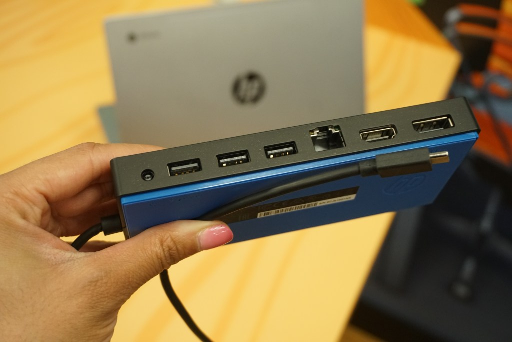 HP Chromebook 13 - Analie Cruz HP Elite USB C Docking Station