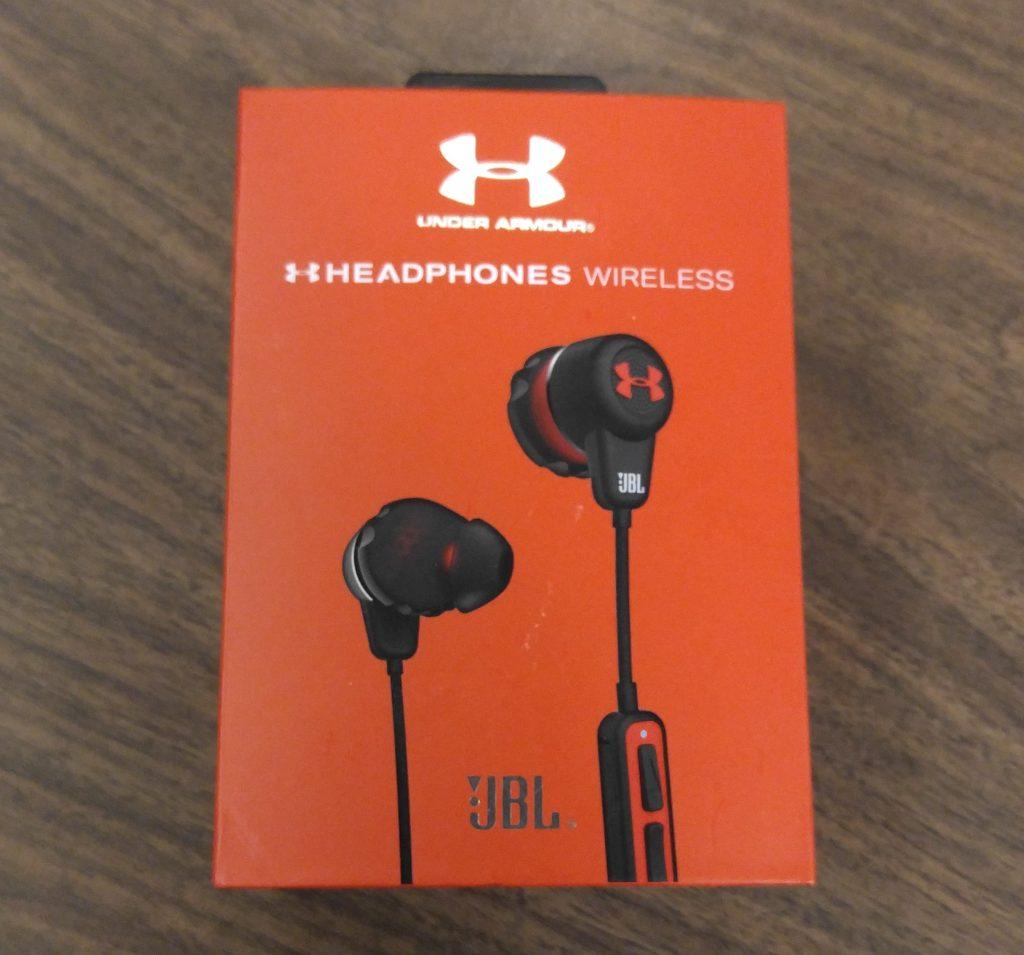UA Headphones Wireless JBL Under Armour headphones Review - - Box - Analie Cruz