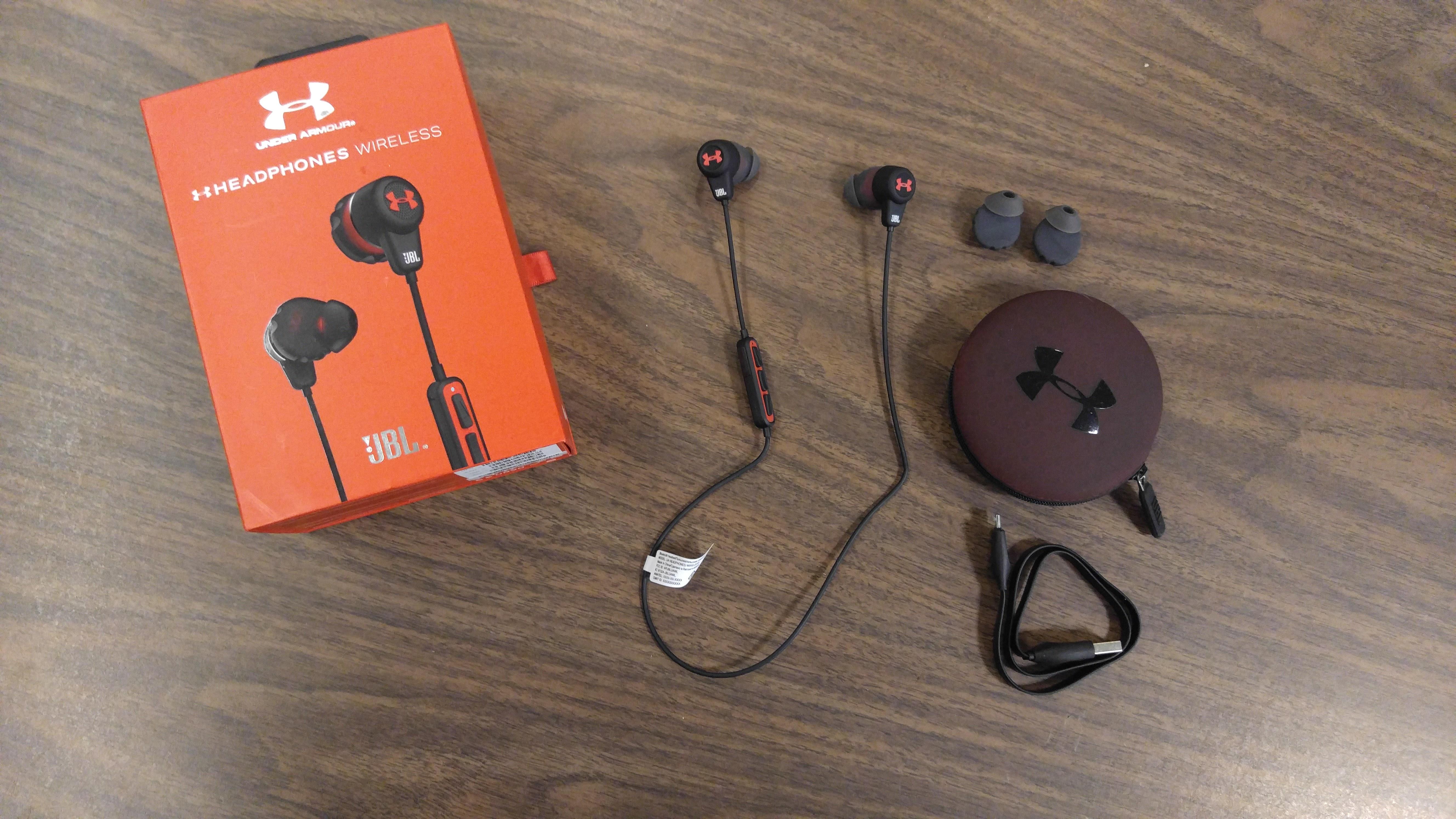 UA Wireless Headphones JBL Under Armour headphones Review - What's In the Box - Analie Cruz