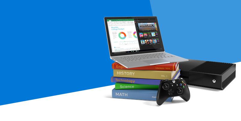 Microsoft Surface Pro 4 / Surface Book Xbox One Bundle