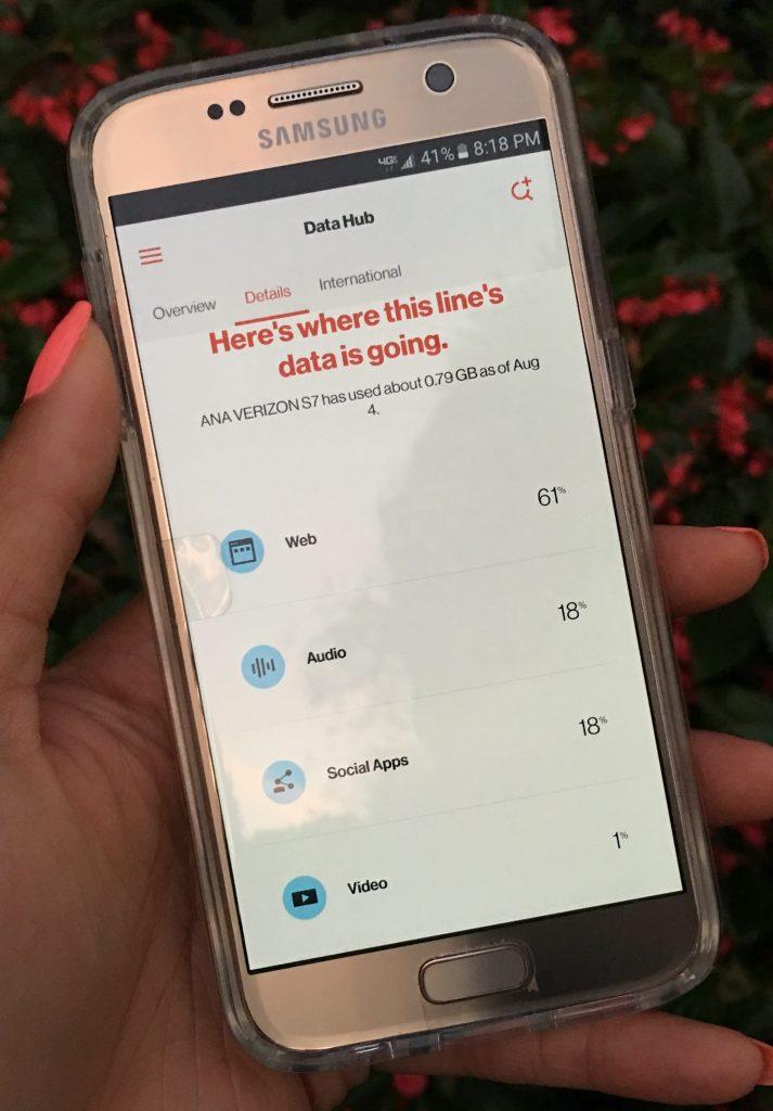My Verizon App Review - Samsung Galaxy S7 - Cruz (3)