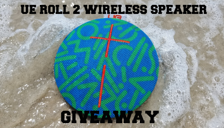 UE Roll 2 Wireless Bluetooth Speaker - Analie Cruz - giveaway