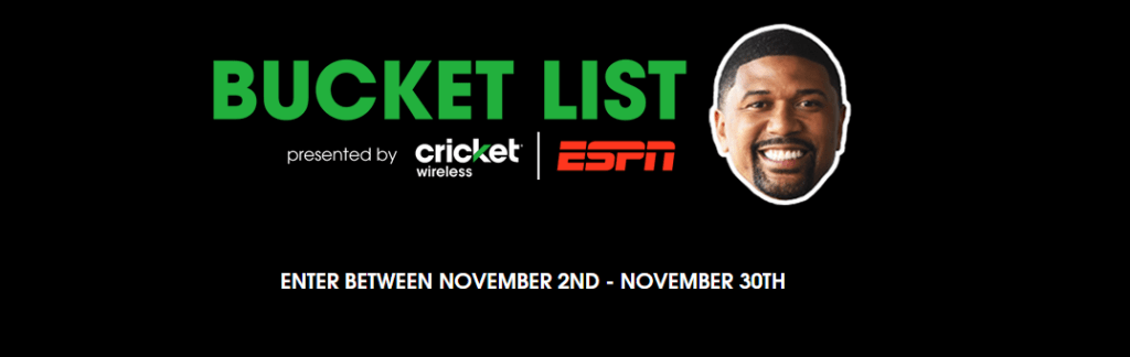 cricket-wireless-espn-bucket-list-sweepstakes