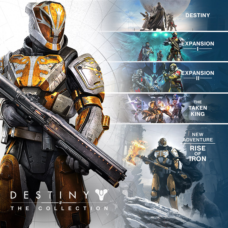 entertainmetn tech video game: Destiny: The Collection (video Game)