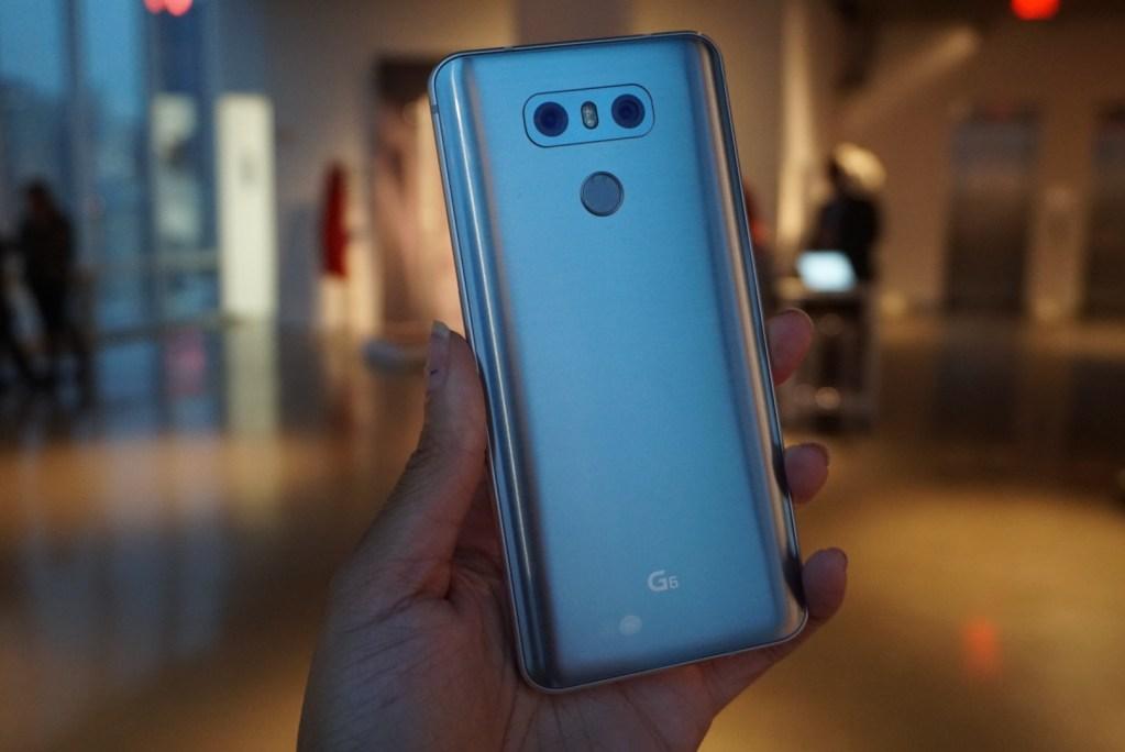 LG G6 - LGG6 Rear cameras and scanner