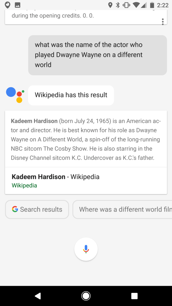 Google Assistant - Name that actor