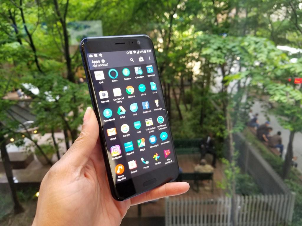 HTC U11 - App Drawer