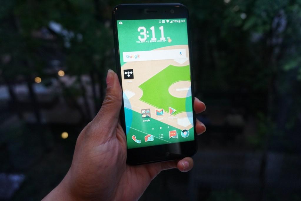 """HTC U11 - Edge Sense - """"Squeeze"""""""
