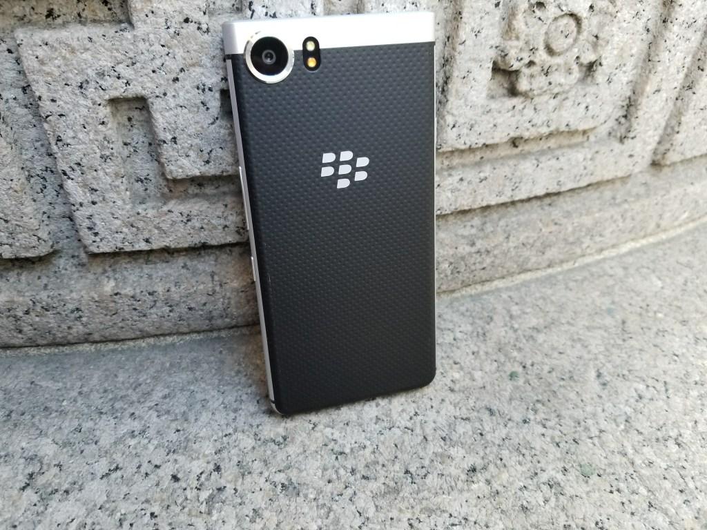 BlackBerry KEYone Smartphone - Textured Back