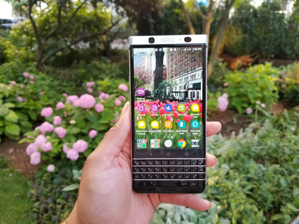 BlackBerry KEYone Smartphone Review