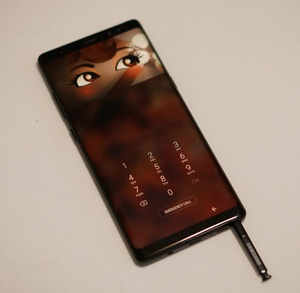 Samsung Galaxy Note8 - Iris Scanner