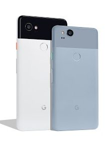 Google Pixel 2 XL (Black &White) and Pixel 2 (Kinda Blue)
