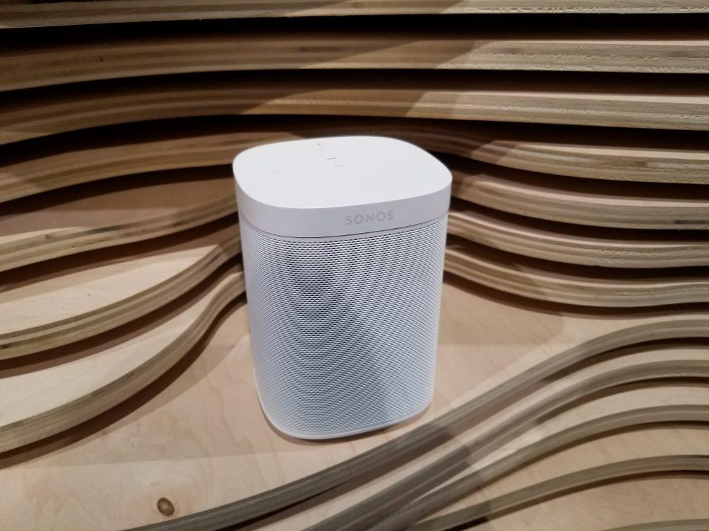 Sonos One Speaker With Amazon Alexa