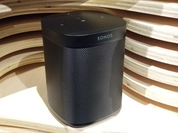 Sonos One Speaker With Amazon Alexa- Black -