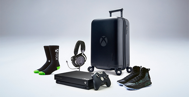 """Xbox One X """"More Power"""" Curry 4 VIP Kit"""