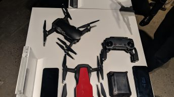 DJI Mavic Air - Drone - Size Comparison