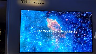 "Samsung ""The Wall"" MicroLED TV"