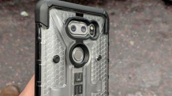 Urban Armor Gear UAG Plasma Series Case LG V30 - Back view