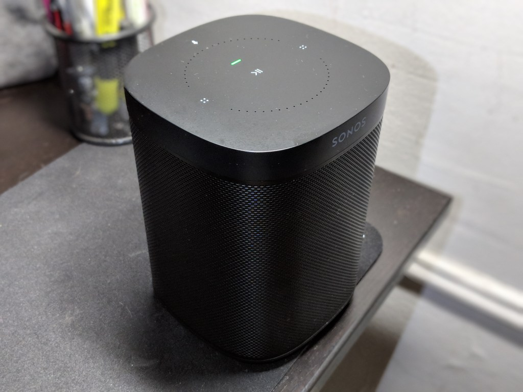 Green LED - Sonos One Smart Assistant Speaker Review