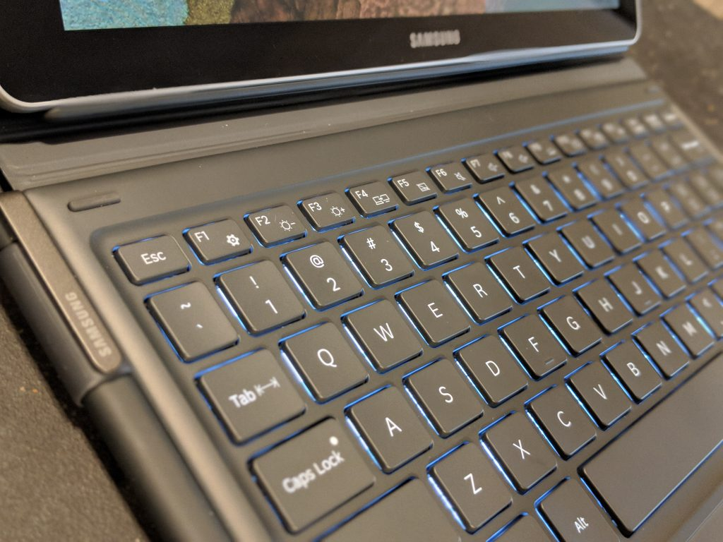 Keyboard - Samsung Galaxy Book 12 Review - Windows 10 2-in-1