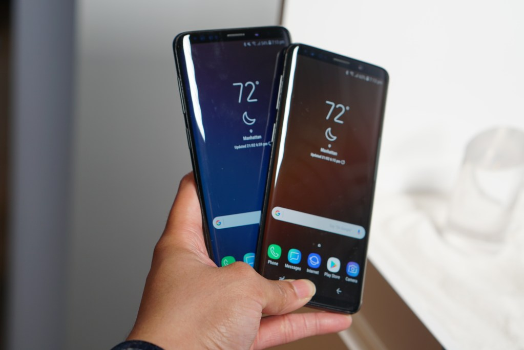 Samsung Galaxy S9 and S9+ Plus - Front