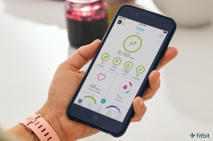 Fitbit Female Health Tracking - Photo Credit: Fitbit Blog