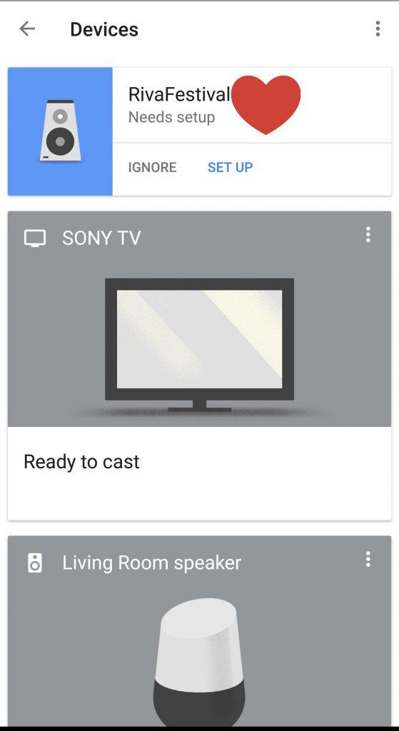 Riva Festival Wireless Speaker -Google Home App Setup
