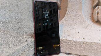 LG G7 - Always onscreen