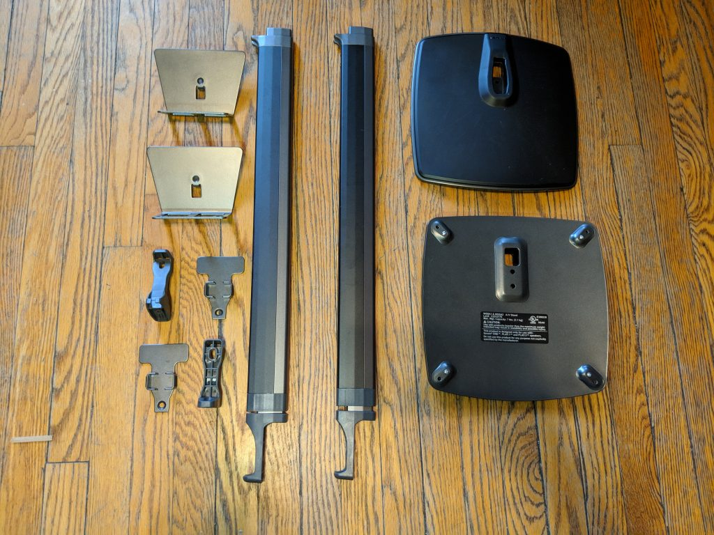 Parts - Sanus Adjustable Height Wireless Speaker Stands for Sonos One Play 1 - Review