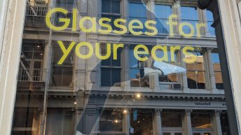 EVEN H3 Headphones - NYC Pop-up - Glasses for your ears