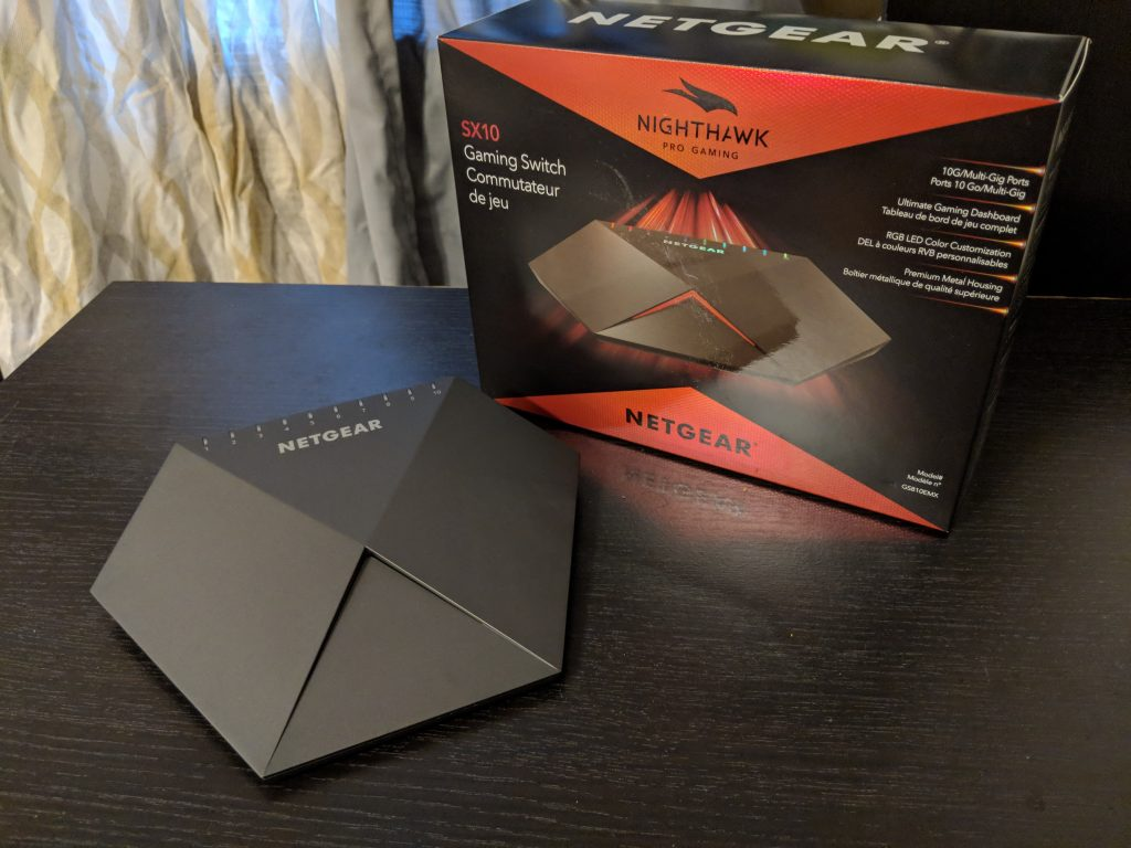 Netgear Nighthawk Pro Gaming Switch SX10 Review -