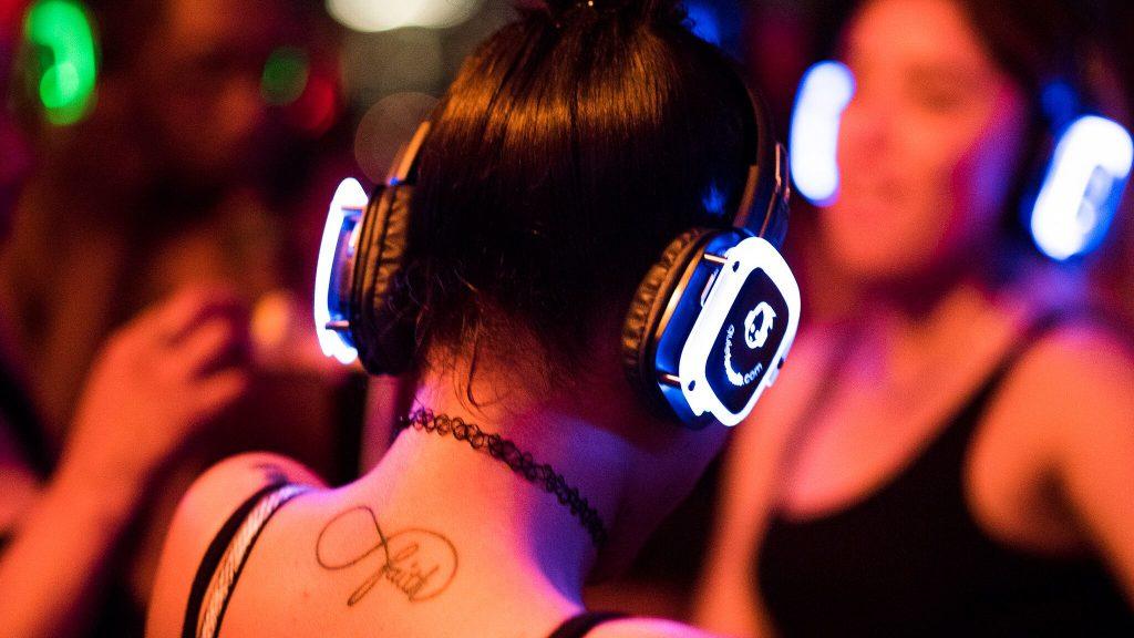 Quiet Events Wireless Headphones