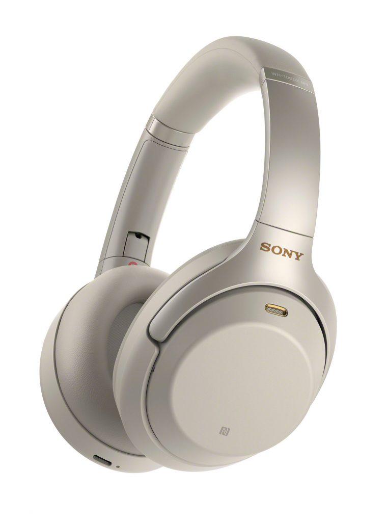 Sony 1000XM3 Headphones - Silver