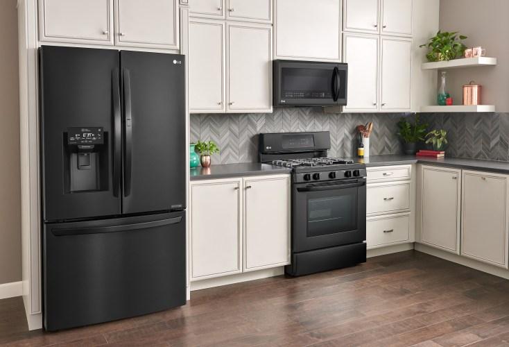 LG Matte Black Kitchen Appliances Available at Best Buy -
